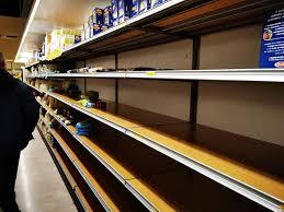supermercati vuoti